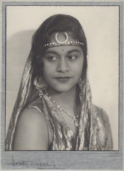 NPG x135562; Maharaj Kumari Lalitarni Devi of Burdwan by Dorothy Wilding