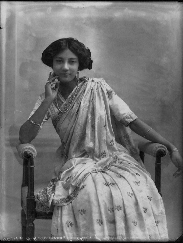 NPG x33307; Princess Sudhira of Cooch Behar by Bassano