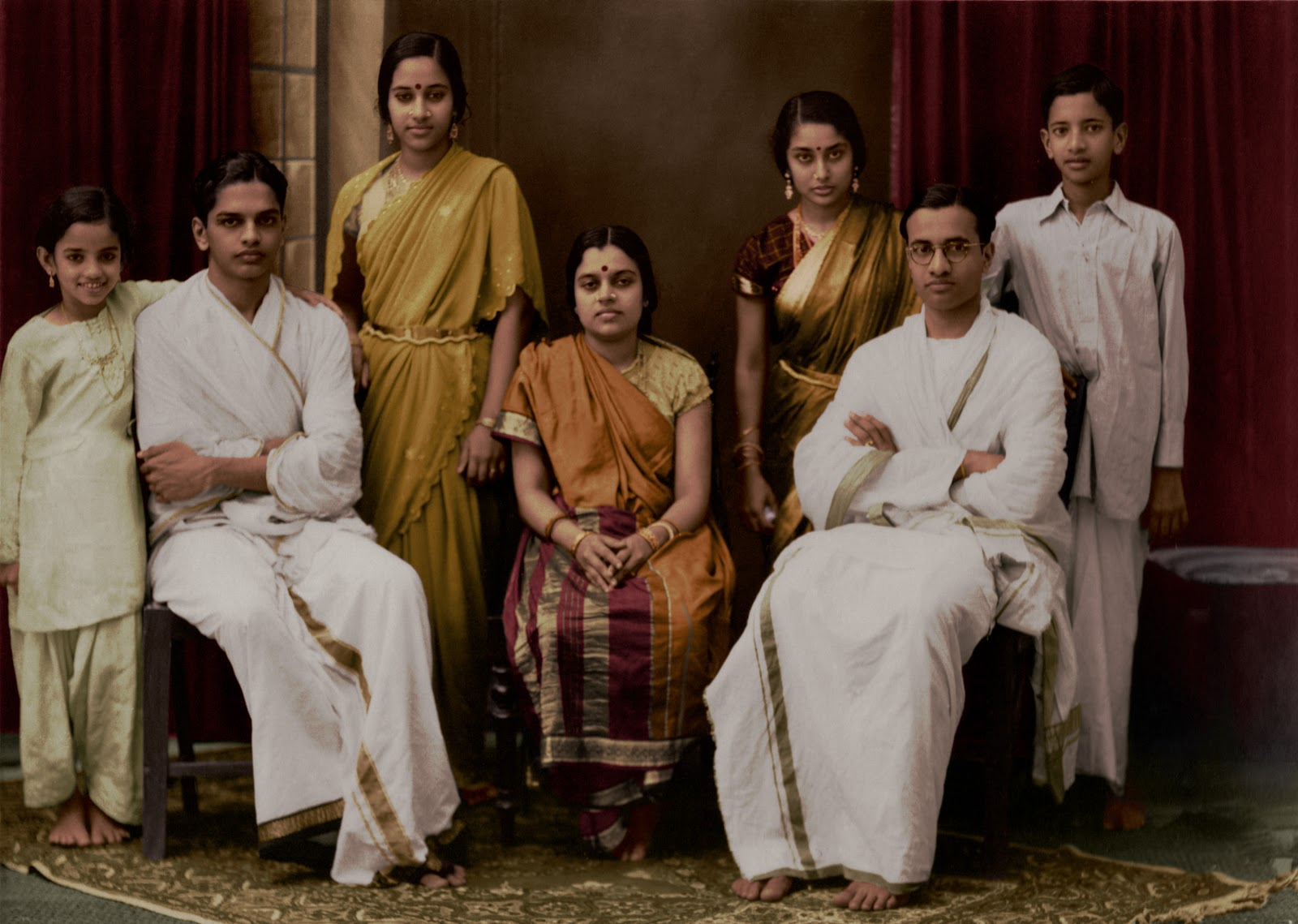 The Families Post Vintage Indian Clothing