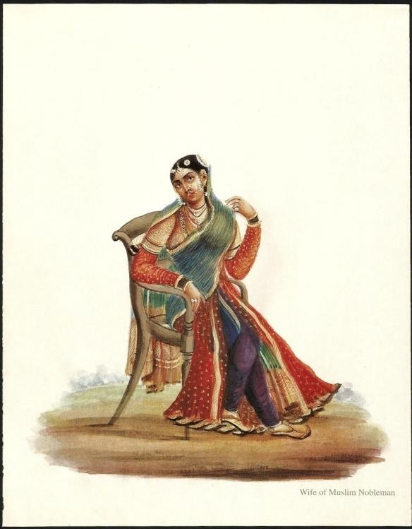 Wife of Muslim Nobleman