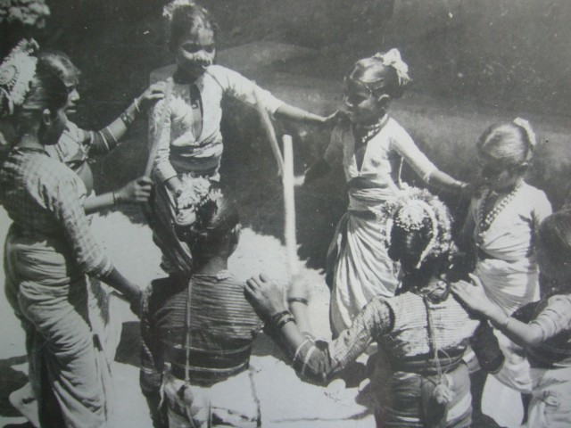 Holi festival 1945