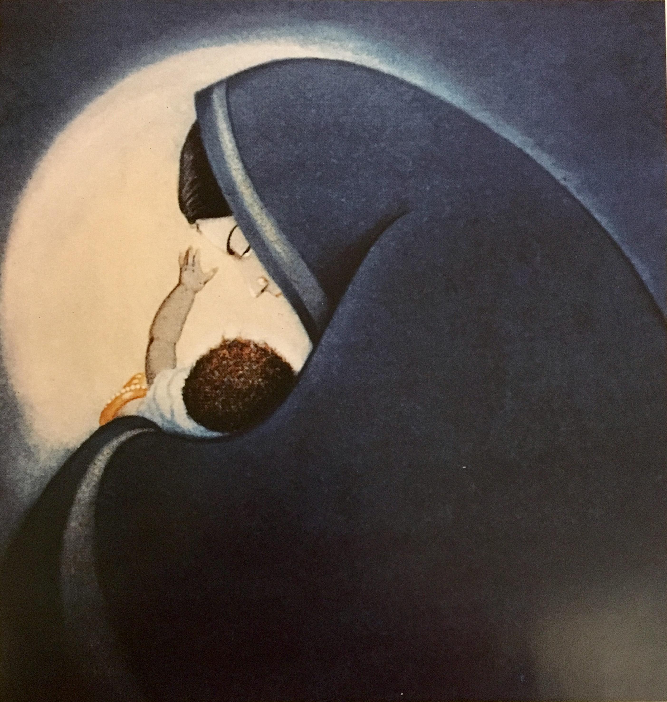 Blue-Madonna frank wesley
